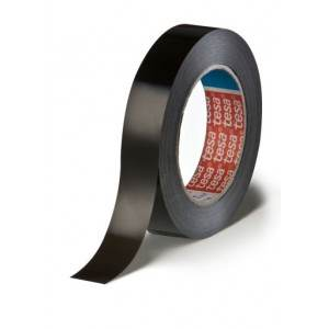 Tesa 4288 Black Polypropylene Tape - 4.5 Mil - 1-1/2