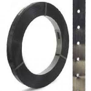"1-1/4"" x .031 IPS In-Line Punched High Tensile Steel Strap"