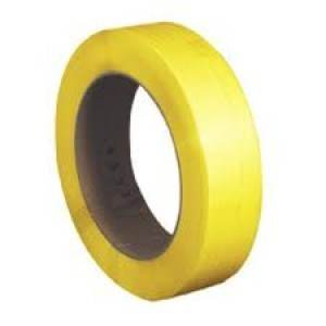 "1/4"" x 16500' Signode LD216Y Yellow Poly Strap"