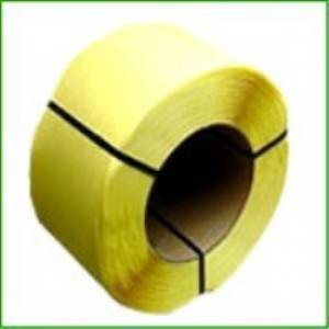 1/4 in. Yellow Embossed Machine Polyproylene Strapping - .024