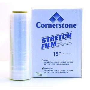 Cornerstone 16 Eco Supreme Two 385mm x 450M Hand Stretch Film