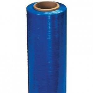 Blue Tinted Hand Stretch Film - 80 Gauge - 15