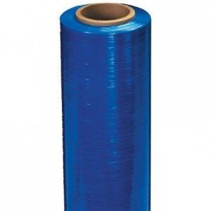 80 Gauge Blue Extended Core Stretch Film - 20