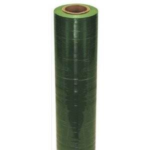 "15"" x 1500' Green Handwrap on 3 inch Core Identi-Film Color Stretch Film"