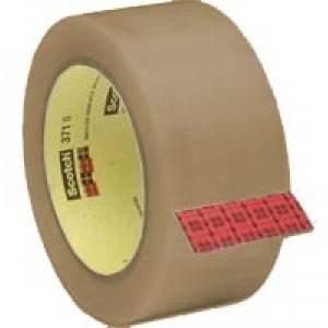 2 in. X 110 yards 1.9 Mil 3M 371 Scotch Hot Melt Tape