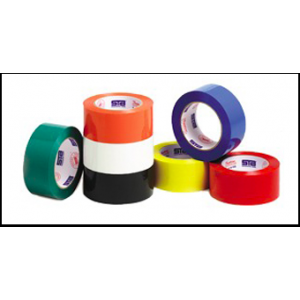 Red Acrylic Packing Tape - 2.2 Mil - 2
