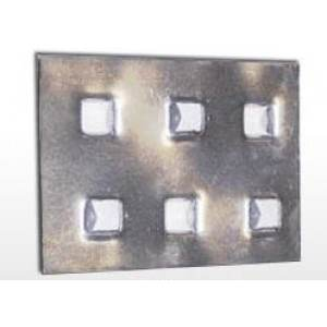 "3-3/8"" x 5"" x .055"" IPS Anti-Skid Plate 200/cs"