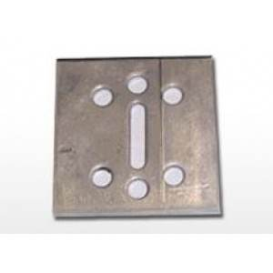 "3/4"" Anchor Plate 500/cs 2"" x 2"" x .125"""