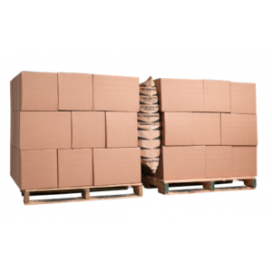 "48"" x 84"" Abraison Resistant Paper Dunnage Airbag 75/sk"