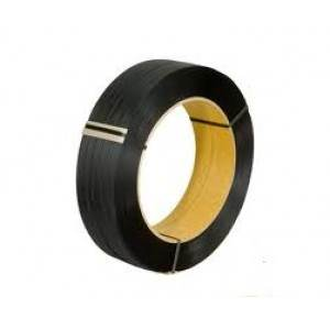 Black Smooth Machine Polyproylene Strapping - .012