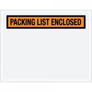"4-1/2 x 5-1/2"" ADM 51/ PQ-12 Packing List Enclosed Envelope 1000/cs"