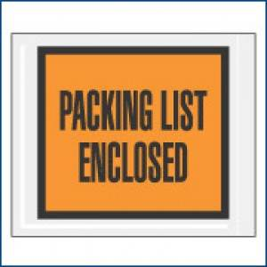 "4-1/2"" x 5-1/2"" ADM 52/PQ10 ""Packing List Enclosed"" Envelope"