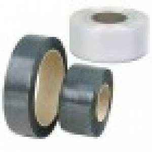Black Polyester Strap - 5/8