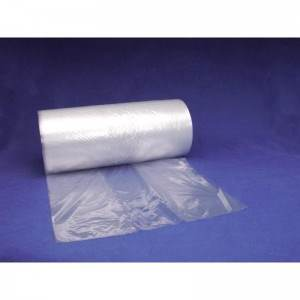 "6"" x 3"" x 18""  1 Mil Gusseted Poly Bag"