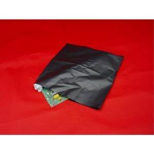 "12"" x 16""  4 Mil Black Conductive Poly Bag"