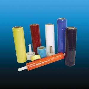 Extended Core Colored Stretch Film