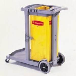 FLEXI 2000 CLEANING CART GRAY