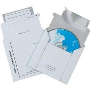 Foam Lined CD Mailer