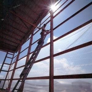 Clear Greenhouse Dura Skrim Plastic Sheeting - 10 Mil - 20 ft.  x 100 ft.
