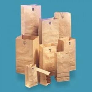 HEAVY DUTY PAPER BAG  KRAFT 8
