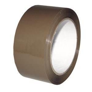 Tan Acrylic Carton Sealing Tape - 1.8 Mil - 2