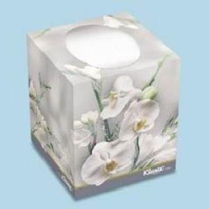 KLEENEX BOUTIQUE TISSUE WHITE FLORAL BOX