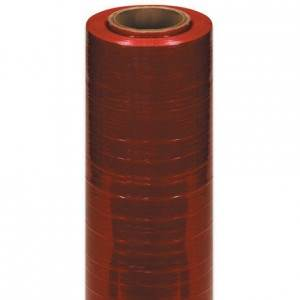 20 x 80 Gauge x 5000 Red Machine Grade Identi-Film 1rl/c Color Stretch Film