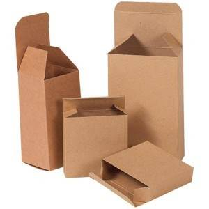 Reverse Tuck Folding Cartons - Kraft