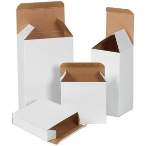 Reverse Tuck Folding Cartons - White
