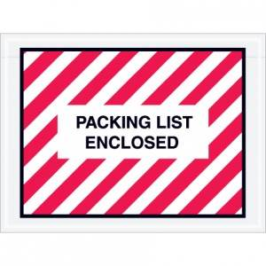 "4-1/2 x 6"" ADM Style-F1 Packing List Enclosed Envelope"