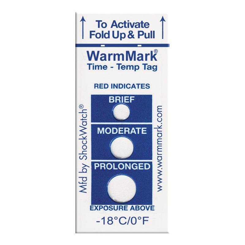 WarmMark Time Temperature Indicator