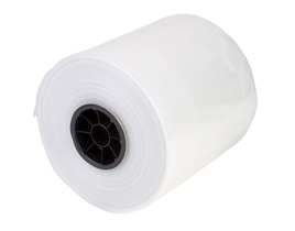 Flat Poly Bags on a Roll