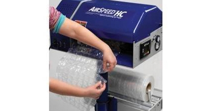 Inflatable packaging system - AirSpeed HC Versa
