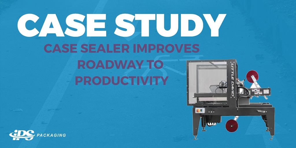 Case Study: Case sealer improves the roadway of productivity