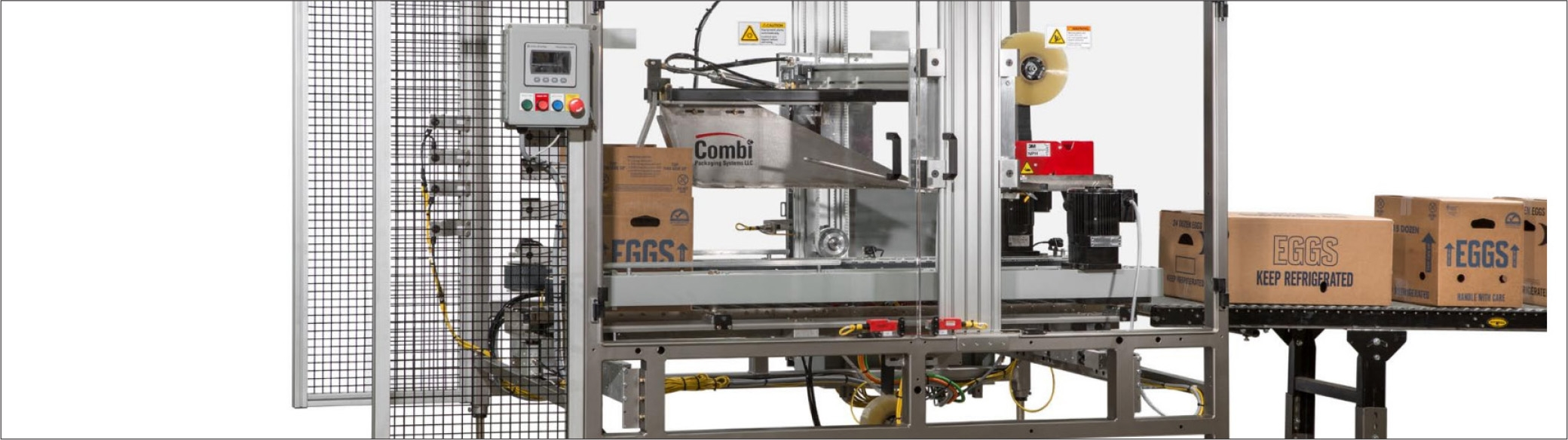 Reducing labor costs - Case Sealing Equipment (Case Study)