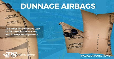 Reducing the cost of shipping with dunnage airbags