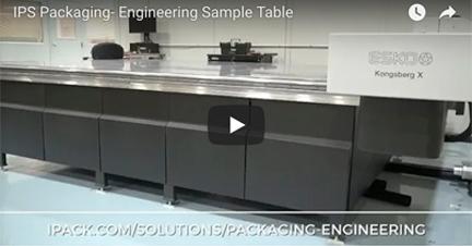 Packaging engineering sample table - New video