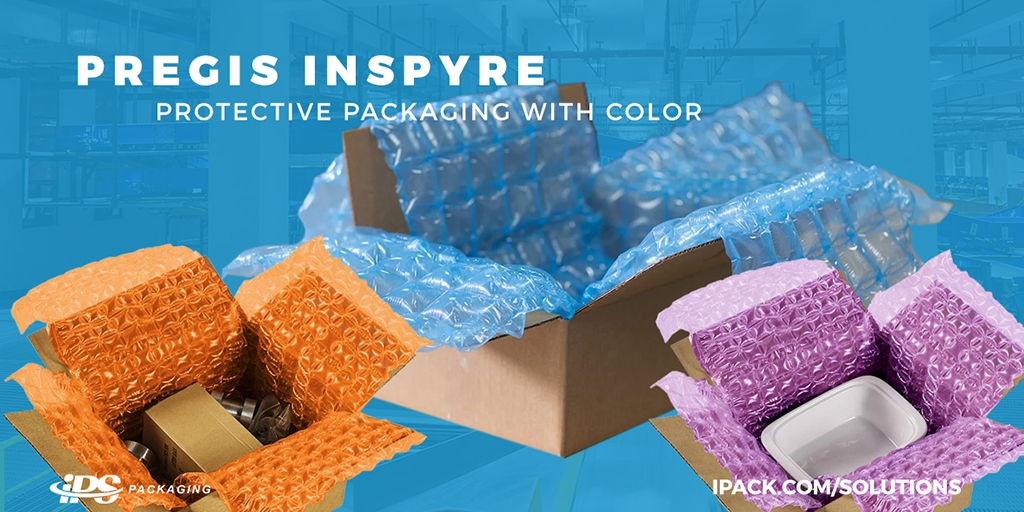 Pregis Inspyre: A new protective packaging brand