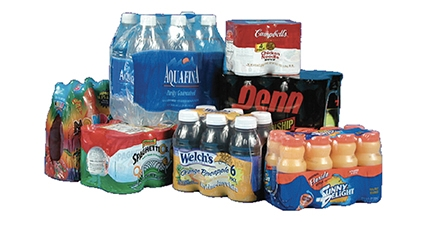 Shrink wrapping eliminates costly shipping cases for beverage industry