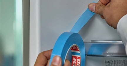 Strapping tape for safety and security