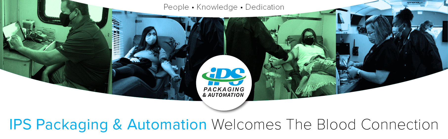 Press Release: IPS Packaging & Automation Welcomes the Blood Connection