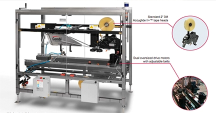 Case study: Carton sealing machine for the food industry